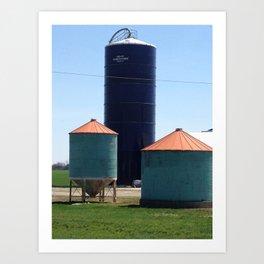 silos Art Print