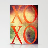xoxo Stationery Cards featuring XoXo by Fine2art