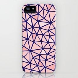Broken Blush iPhone Case