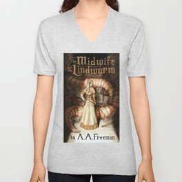 The Midwife and the Lindworm - Title Version Unisex V-Neck