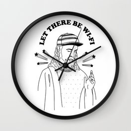 Let there be wi-fi Wall Clock