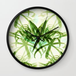 That  Bamboo  look.... Wall Clock