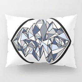 Geometric Glacier Pillow Sham