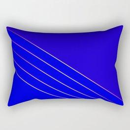 Victoria 4  Indigo Rectangular Pillow