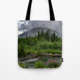 Alaskan Summer Rain Clouds, Kenai_Peninsula Tote Bag