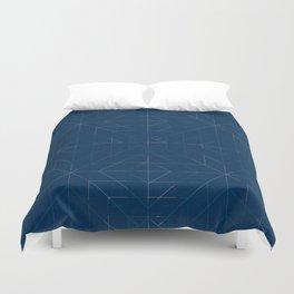 Geometric Lines Duvet Cover
