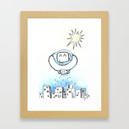 Watering the Earth Framed Art Print