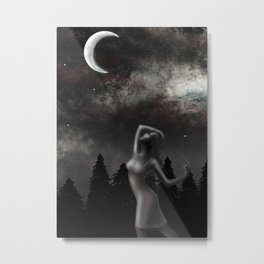 Dancing Under the Moonlight Metal Print