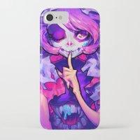 barachan iPhone & iPod Cases featuring wraith by barachan