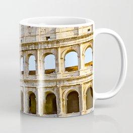 Vita Bellissima (Beautiful Life): Colosseum in Rome, Italy Coffee Mug