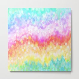 pastel rainbow #society6 #decor #buyart Metal Print