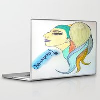 artpop Laptop & iPad Skins featuring 'ARTPOP' by Aaron Cumiskey