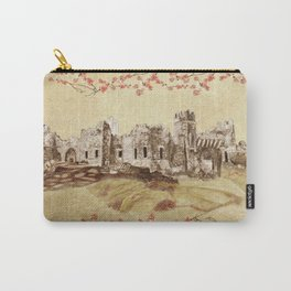 Castle Ward Vintage Carry-All Pouch