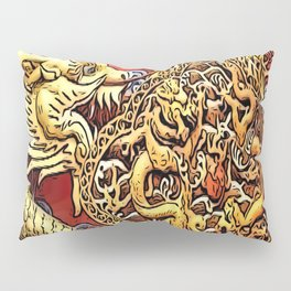 the dragon red sex, luck, love, the future of happiness Pillow Sham