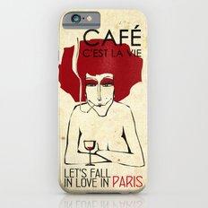 Café c'est la vie - Paris iPhone 6s Slim Case