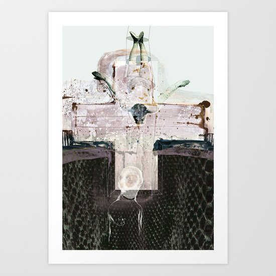 vitriol 4 Art Print
