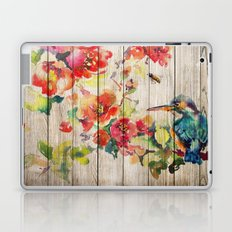 Spring on Wood 04 Laptop & iPad Skin