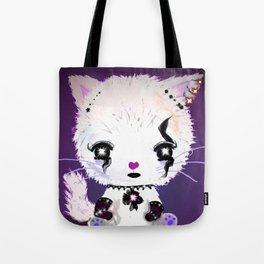 Punky Persian - Dark Purple Tote Bag