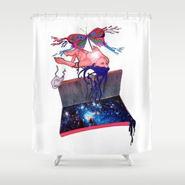 Catarsis Shower Curtain