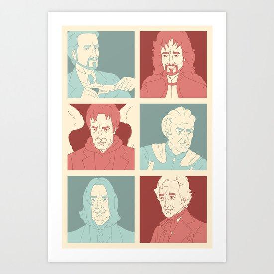 Rickmans Art Print