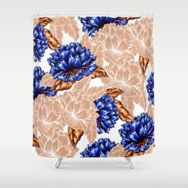 Floral Background Shower Curtain