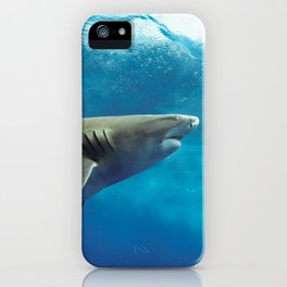Lemon Shark Rising iPhone Case