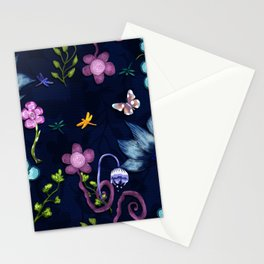 Flower flow Stationery Cards