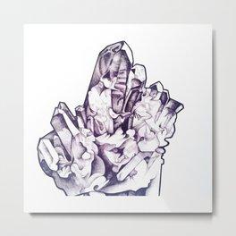 Crystal Vision  Metal Print