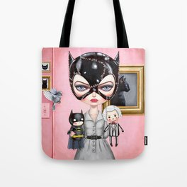 Catwoman - Playtime For Kitty Tote Bag