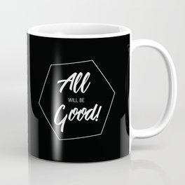 Inspiring Gift Ideas for Entrepreneurs #5 - White on Black Coffee Mug