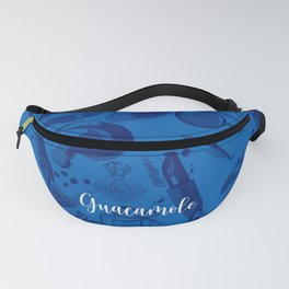 FASHION STYLE  BLUE Fanny Pack