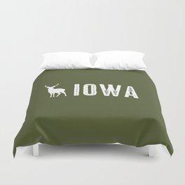 Deer: Iowa Duvet Cover