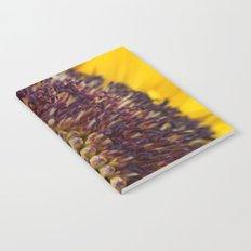 Sunflower macro Notebook