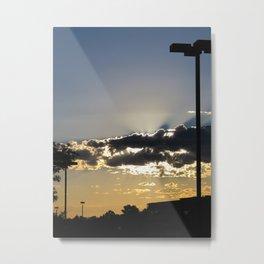 Urban Lot Sunrise Metal Print