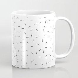 Sporadic Lines Coffee Mug