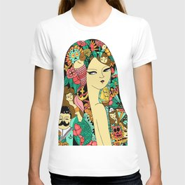 Girl with Tattoo T-shirt