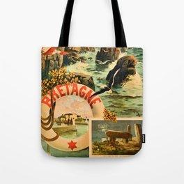 Bretagne Brittany Hugo d'Alesi 1895 French travel Tote Bag