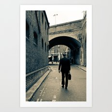 London hidden places  Art Print