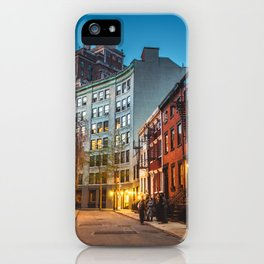 Twilight Hour - West Village, New York City iPhone Case