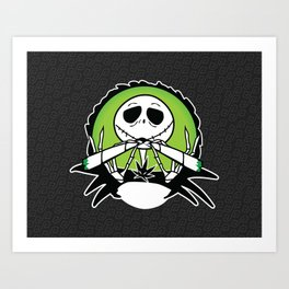 Jack's Two Joints Art Print