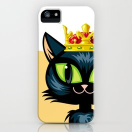 Royal cat iPhone Case