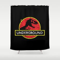 Monsters of the Underground Shower Curtain