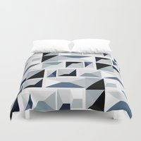stark Duvet Covers featuring Stark  by Ilsa Falis