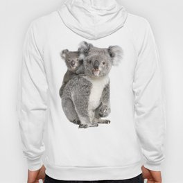 Koala bear and her baby Hoody
