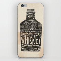 Whiskey iPhone Skin