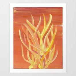 Dessert Coral 2 Art Print
