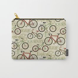 Bicycle Journey Carry-All Pouch