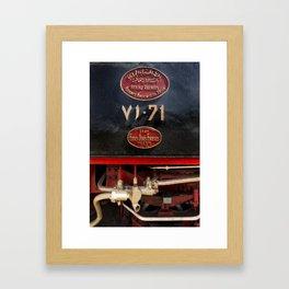 The Hijaz Railway  Framed Art Print