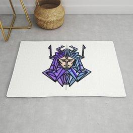 Space Samurai Rug