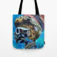birthday Tote Bags featuring Birthday by Katy Hirschfeld